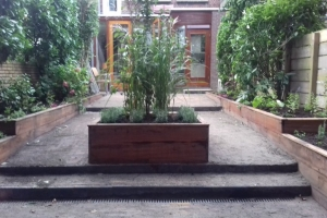 Tuinontwerp Utrecht niveauverschillen