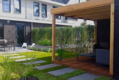 Luxe kindvriendelijke tuin Zeist