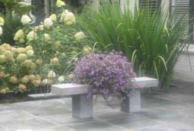 Klassieke beplanting in Driebergen